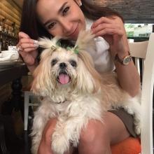 นางฟ้าจริงๆ !! ซุปตาร์อั้ม กับน้องหมาสุดน่ารัก