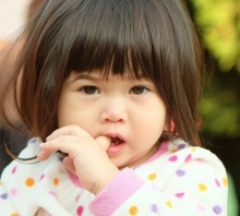 น่ารักเว่อร์ น้องนามรูป ลูกสาวแม่ไก่ มีสุข ในลุคชาวดอย