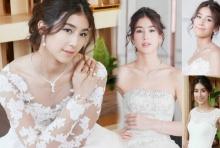 งามตะลึง มิ้นต์ ชาลิดา ในแฟชั่นชุดแต่งงานสีขาวฟูฟ่อง!