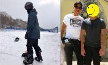 ส่องภาพล่าสุด เอม ลูกชาย ดู๋ สัญญา กลางหิมะที่ญี่ปุ่น หล่อขึ้นม๊ากก