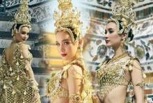 ดาวล้านดวง! 'น้องโม' อวดชุดประจำชาติ พร้อมขึ้นประกวด Miss International Queen