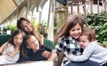 อัพเดทความน่ารัก น้องไลลา-ลูก้า ลูกๆของ พอลล่า เทเลอร์