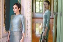 งามไม่มีที่ติ!!  ปอย ตรีชฎา สวย หวาน ในชุดไทย