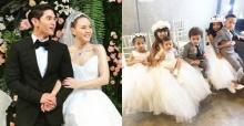 ส่องภาพหนูน้อย ทายาทแก๊งนางฟ้าในงานแต่ง เจนี่ - มิกกี้ สวยหล่อกันทุกคน!!