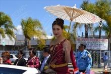 รับสงกรานต์กับภาพซุปตาร์ในงานสงกรานต์: สาวๆคนดังในชุดไทยสไตล์นางสงกรานต์