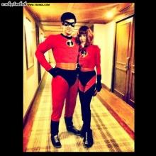 pic : เต๋อ - พีค กับมาด The Incredibles ฮาอะ!!