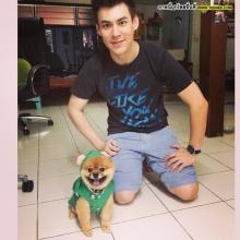 Pic : จอห์น วิญญู กับน้องหมาสุดเลิฟ สุดน่ารัก!!