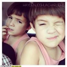 Pic : ซุปตาร์ฝาแฝด เฮเดน-โจชัวส์ น่ารั๊คอ่ะ @IG