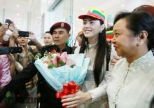 อัพเดตภาพ ใหม่ ดาวิกา ที่ประเทศ พม่า