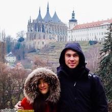 Pic : ลิเดีย - แมทธิว คู่รักคู่หวาน ลัลล้า ณ ต่างแดน