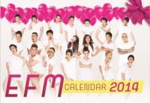 21 ดีเจดัง โชว์หวิวเปิดศักราช ใน EFM Calendar 2014