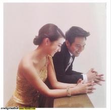 pic:: คู่จิ้น โป๊บ-มิวเข้าพิธีแต่งงาน ในละครรักออกฤทธิ์
