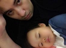 ภาพคู่ มายู กับ คุณพ่อหนุ่ม หน้าเหมือนกันมากก รู้เลยลูกใคร