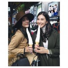 โบว์ เบญจวรรณ กับแก๊งเพื่อนสาวเที่ยวเกาหลีน่ารักสุดๆ