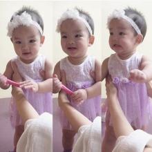 สายแดนซ์มาเอง ! น้องปีใหม่ ลูกแม่แอฟ โชว์ความน่ารัก เต้นดุกดิก