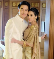เบเบ้ ธันย์ชนก สวยเลอค่าควง บูม ถ่ายแบบชุดแต่งงาน