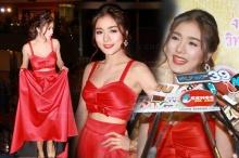 กระแต เผ็ดซี๊ดในชุดแดง!!อวดเนินเต่ง
