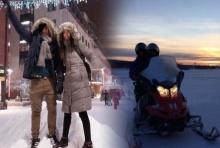 ณิชา-ไอติม จูงมือตามหาแสงเหนือ อิน ฟินแลนด์  สวีตจนหิมะยังละลาย