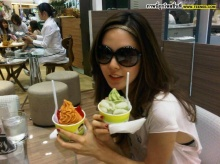 Pic: สาวพีค หวานใจหนุ่มเต๋อ@Twitter