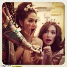 ชมพู่ - พลอย 2สาวรวมตัวฮอต จาก instagram