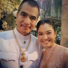 ภาพบรรยากาศงานแต่งงาน คุณไก่ มีสุข และ คุณคิม