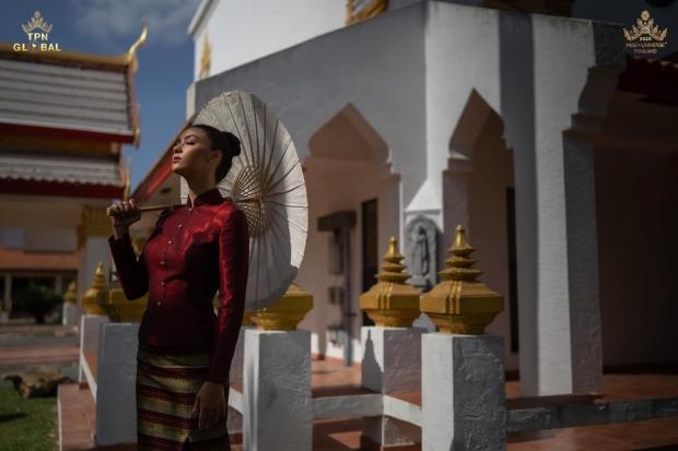 งามแท้แลตะลึง!! ส่องภาพเซ็ตแรกของ อแมนด้า เยือนวัดไทยในอเมริกา