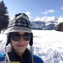 Pic : มิน พีชญา ลัลล้า ณ สวิตเซอร์แลนด์