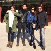 pic:: จุ๋ย วรัทยา และเพื่อนๆ ไปเที่ยวเกาหลี