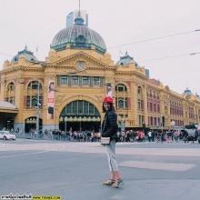 นี่ไง ภาพโม มนชนกจากทริปส์เที่ยว ออสเตรเลียกับ บี้