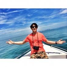 PIC:: เจมส์ จิที่ เกาะ สมุย