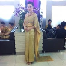 Pic : เมย์ พิชญ์นาฎ กับชุดไทยสุดงดงาม สวยเว่อร์