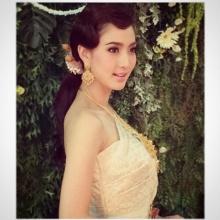 Pic : แต้ว ณฐพร สวยเลอค่าในชุดไทย