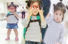 น่ารักไหมคะ!! น้องมะลิตัวน้อย กับลุคเด็กแว่น!!