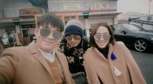 เปิดภาพทริปหวาน จอย - อาเล็ก ควงคู่รับลมหนาวที่เกาหลี