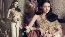อย่างกับภาพวาด! ดาวิกา ในชุดไทย สวยมากก!
