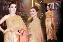 หาดูยาก!! เชียร์ ฑิฆัมพร ในชุดไทยสวยมว๊าก