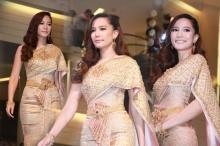 ไม่ทิ้งลายนางงาม เจ้าสาวหมาดๆ ชาม สวยในชุดไทย