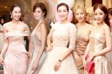 รวมชุดหรูธีม Pink Gold สาวๆในงานแต่ง เบเบ้
