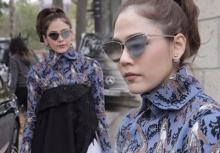 ชมพู่ อารยามาแล้ว ร่วมชมแฟชั่นโชว์ Dior ด้วยชุดเดรสเก๋ๆ เจิดมาก