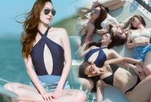 แซ่บทะเลเดือด!! 5สาวทีมบี นุ่งน้อยห่มน้อยอาบแดดริมทะเล!!