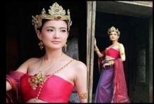 ความงดงามของโลกใบนี้!! แต้ว ณฐพร สวมชุดไทย ร่วมงานประเพณี ขึ้นเขาพนมรุ้ง(คลิป)