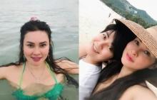 ใหม่ เจริญปุระ ควงแฟนสาวหล่อเที่ยวทะเลสมุย อวดหุ่นเป๊ะปังวัย 48