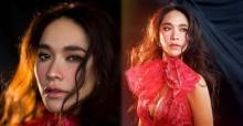 พลอย เฌอมาลย์ สวยสะกดทุกสายตาในชุดสีแดง เฉิดฉายบนรันเวย์  Elle fashion week 2018