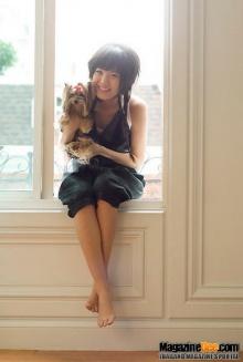 Pic : ดารากับน้องหมา