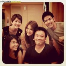 Pic : พิม ซาซ่า กับเพื่อน ๆ ในวงการ!!