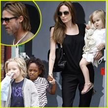 ภาพล่าสุดของครอบครัว Jolie - Pitt