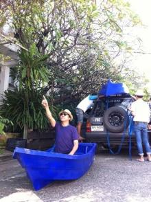 Pic : ฮา ๆ คลายเครียดน้ำท่วมกับ โน๊ต อุดม!!