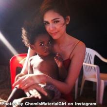 ชมพู่กับเด็กน้อย น่ารัก ๆ จาก instagram