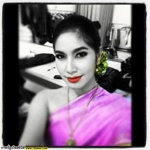 เบนซ์ พรชิตา จัดเต็มแต่งชุดไทย จาก instagram