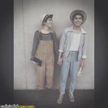 Pic: คู่รักเด็กแนว แอมมี่-ไอด้า